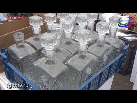 Жительница Кизляра задержана за производство контрафактного алкоголя