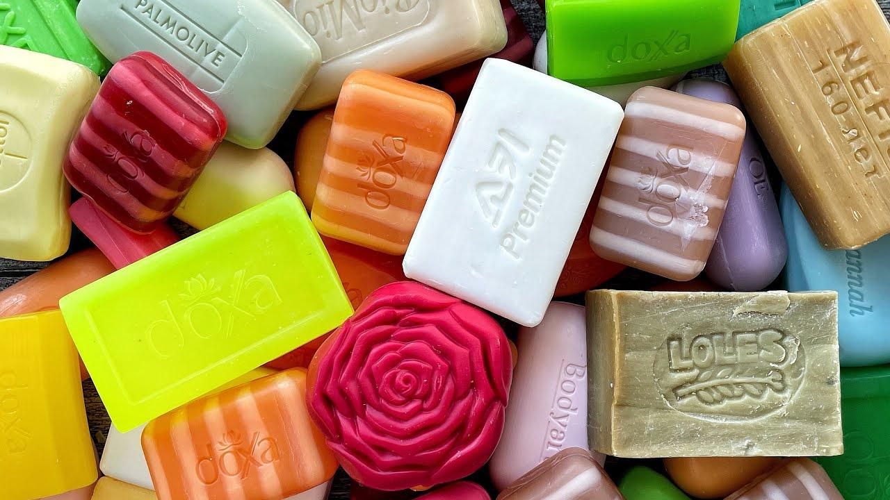 Soap opening HAUL. Unpacking of soap. ASMR soap. No talking. ASMR video. Асмр распаковка мыла