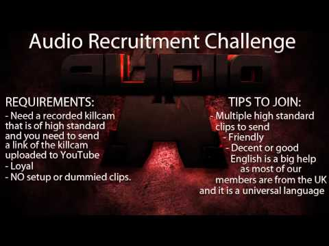 Audio Recruitment Challenge [Always Open]