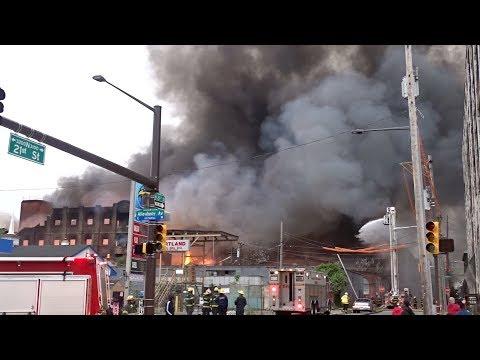 5 Alarm Building Fire - 21st & Lippincott - Philadelphia Fire Department