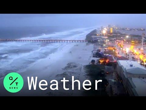 Hurricane Sally: Beaches Close in Florida as Waters Rise in Louisiana