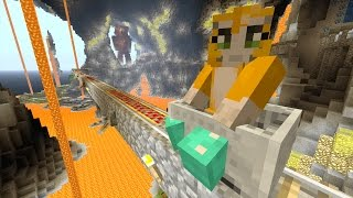 Minecraft Xbox - Cave Den - Train Challenge (35)