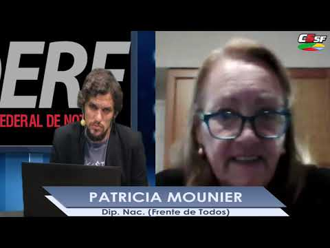 Patricia Mounier: Es necesario que haya perspectiva de género en la Justicia