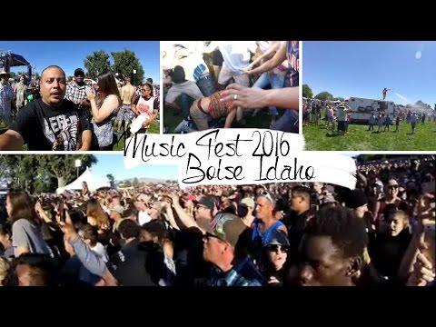 Music Festival Boise Idaho 2016