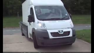 Peugeot Boxer U Tail испытания Mov