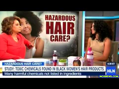 CHECK YOUR LABEL: Hazardous Ingredients in Black Hair Care Products!