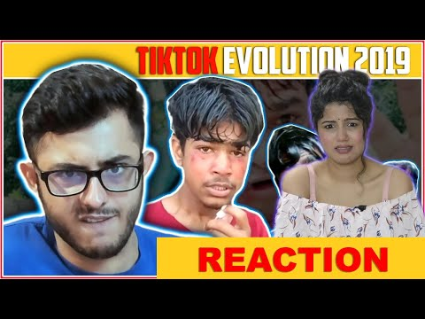 TIKTOK EVOLUTION 2019 | CARRYMINATI |Reaction | Pooja Rathi | CuteBox
