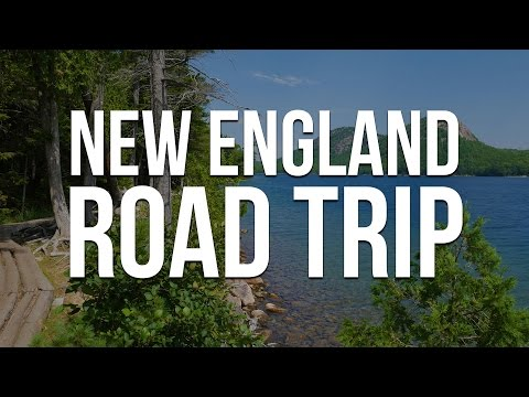 New England Road Trip 2016 - Road Trip en Nouvelle-Angleterre [Travel Video]