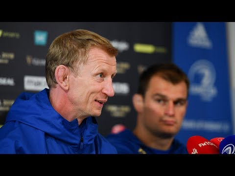 Leinster v Munster - Pre-match press conference with Leo Cullen & Rhys Ruddock