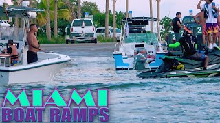 THINGS GET HEATED AT THE BOAT RAMPS!! | Miami Boat Ramps | 79st Boat Ramps