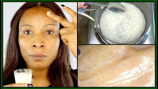ANTI - AGING WRINKLE FIGHTING RICE OVERNIGHT SERUM | HOW TO MAKE RICE SERUM FOR FACE |Khichi Beauty