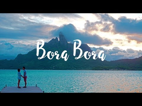 Bora Bora, St. Regis Resort 2015 - GoPro and DJI Phantom 3 Pro HD