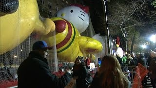 Security preparations for NYC's Thanksgiving Day parade