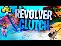 Fortnite Battle Royale: Revolver CLUTCH (Fortnite BR Clutches and Fails)