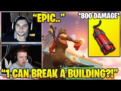 STREAMERS Shows You Why NEW Dynamite Was Vaulted in 1 HOUR! Fortnite FUNNY & Daily Moments
