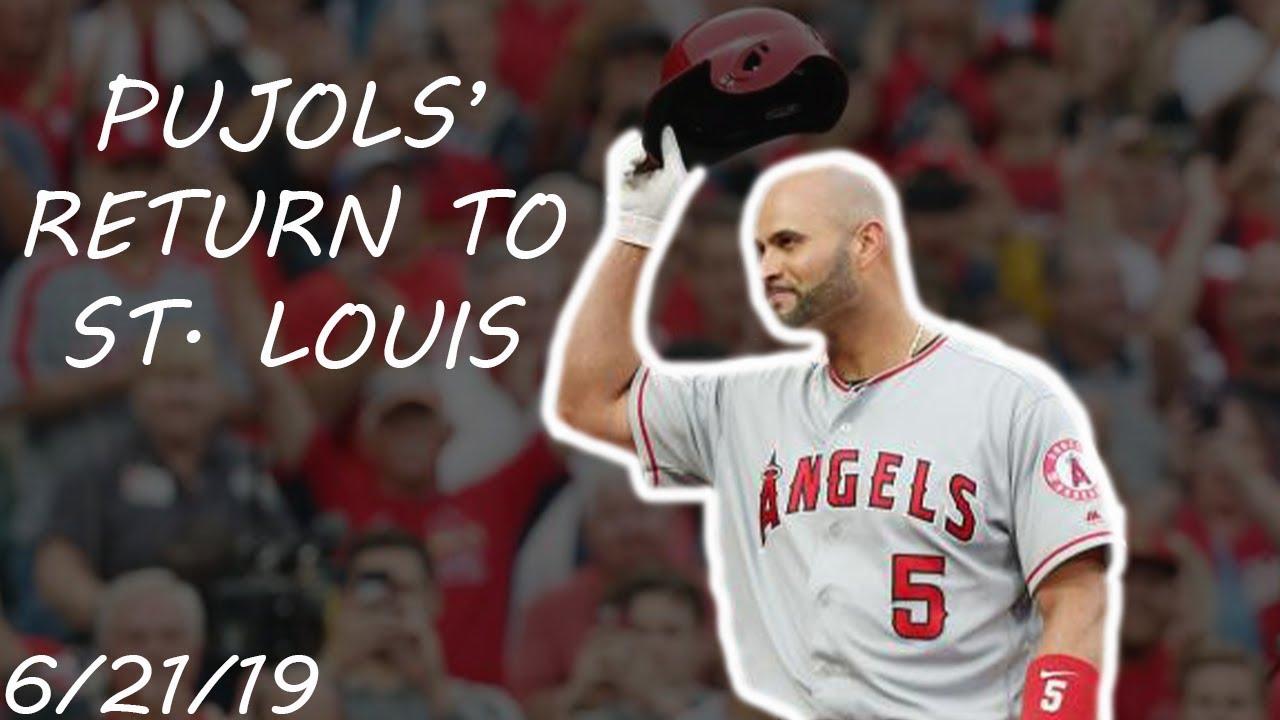 Albert Pujols' Return to St. Louis | June 21, 2019 | 2019 MLB Season