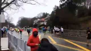Heartbreak Hill, Boston Marathon 2015