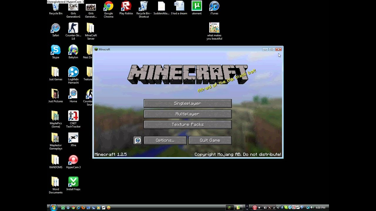 How to play Offline on minecraft. Multiplayer - YouTube