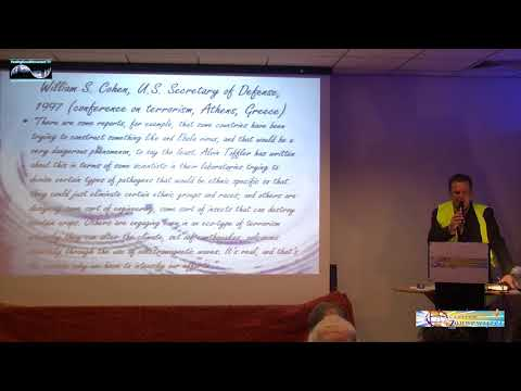 Chemtrails, Geoengineering & HAARP Symposium, John Consemulder