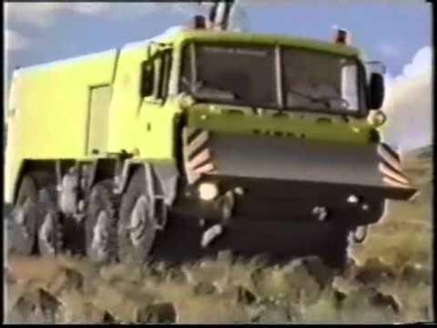 Tatra WILDFIRE - testy Nevada/USA