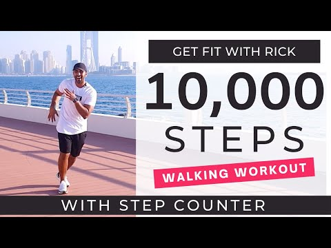 10000 Steps at Home | 1 Hour Workout | Low Impact Walking Workout