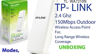 tp link tl wa7210n 2 4 ghz 150mbps outdoor wireless access point