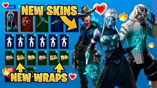 *NEW* All Leaked Fortnite Skins & Emotes..! *AVENGERS SKINS* (Black Widow, Widow´s Pirouette..)