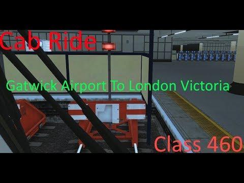 Class 460 cabride | Gatwick Airport to London Victoria