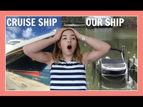 FROM CRUISE SHIP TO OUR SHIP | Flippin' Katie