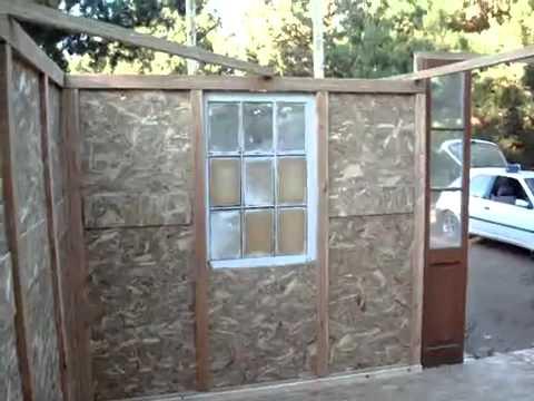 Construcci n casa con materiales reciclados parapente - Casa materiales de construccion ...