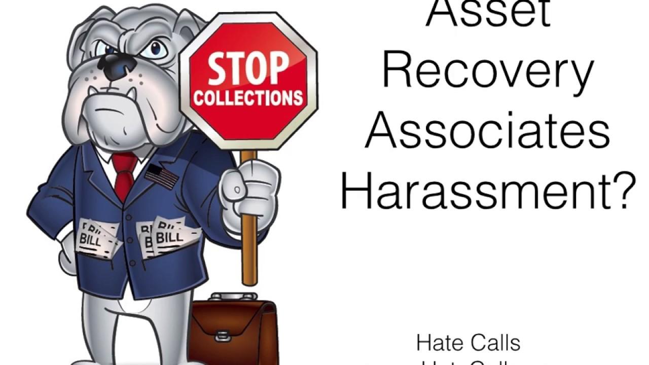 asset recovery associates debt harassment youtube