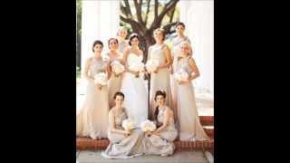 Свадьба в нежно - бежевых тонах