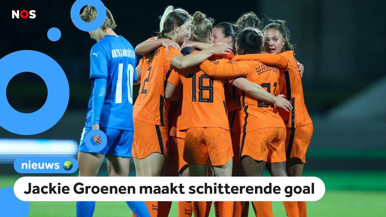Download Oranjevrouwen verslaan IJsland met 0-2