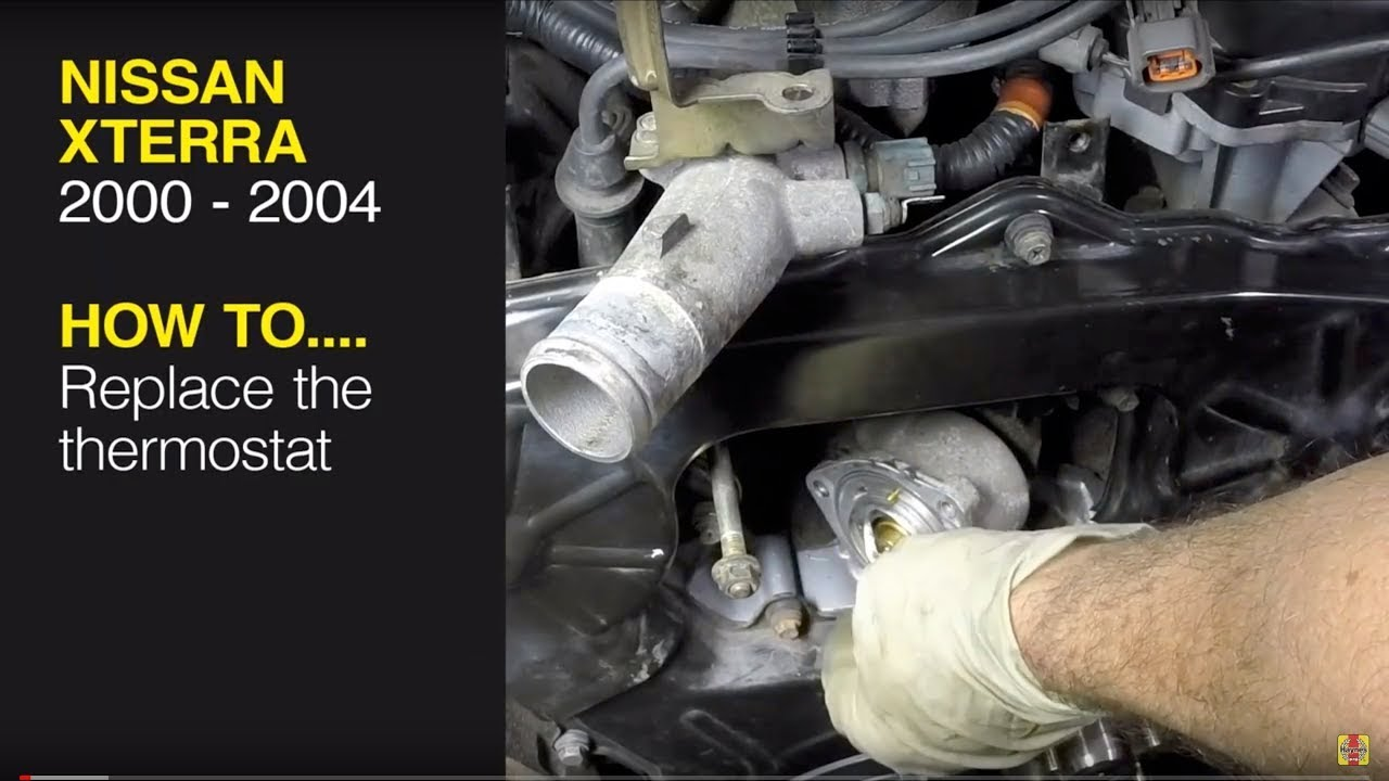 Nissan Xterra 00 04 Pathfinder 96 04 Or Frontier Pick Up 98 04 Replace The Thermostat Youtube
