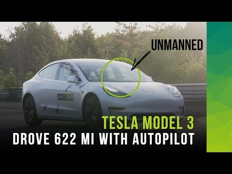 Can an unmanned Tesla Model 3 on Autopilot set a new hypermiling record?