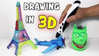 3D Pen | How to draw in 3D using a 3D pen