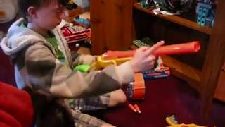 Nerf War: Like Father, Like Son Part 1