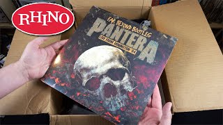 Rhino Records Unboxing - 10 Albums + Stickers + Shirt & MORE!