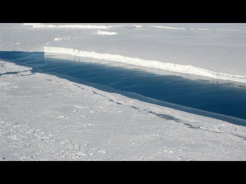 Scientists find tower-high channel beneath Antarctica ice shelf