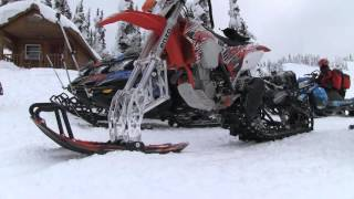 STV 2016 Revelstoke Part 03 - Snow Bikes in Revelstoke
