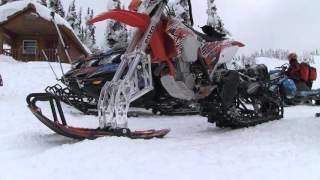 STV 2016 Revelstoke Part 03 - Snow Bikes in Revelstoke