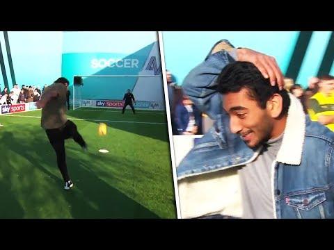 Bradley Dack vs Nabhaan Rizwan& Roger Jean Nsengiyumva | Soccer AM Pro AM