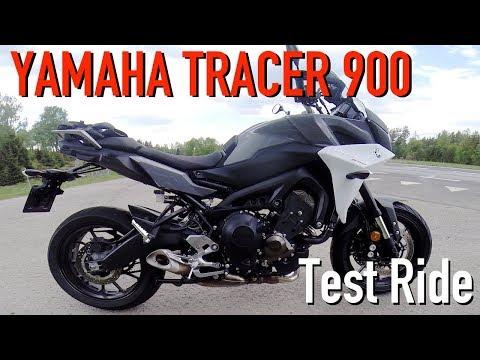 2018 Yamaha Tracer 900 Test Ride
