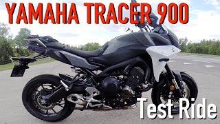 2018 Yamaha Tracer 900 Test Ride