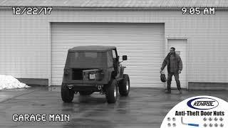 Kentrol Anti-Theft Door Nuts for Jeep Wrangler JK 2007-2018 4 Door  30712