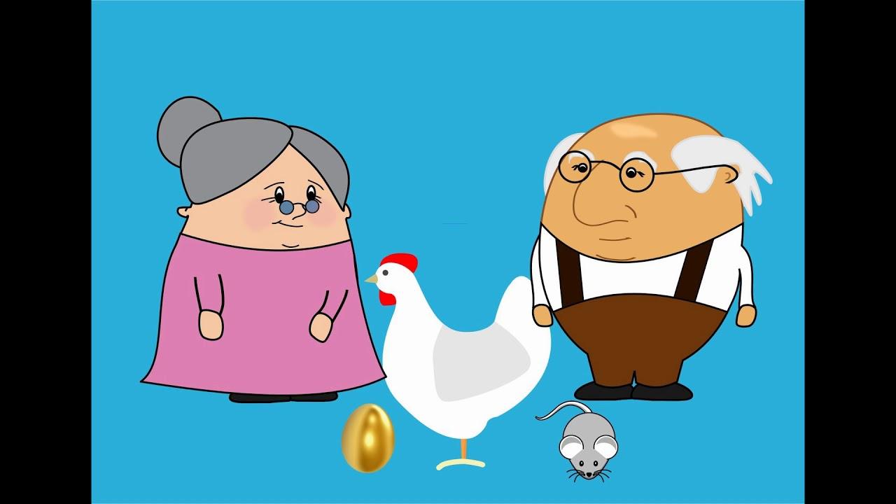 Детские сказки для малышей   Курочка Ряба   Аудиосказки ...