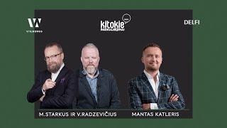 """""""Kitokie pasikalbėjimai"""" su Martynu Starkumi ir Vytaru Radzevičiumi"""