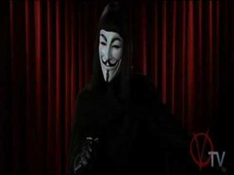V for Vendetta Speech