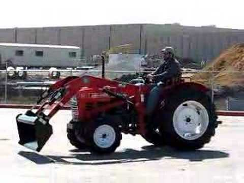YANMAR YM3110 4X4 TRACTOR - DRIVING