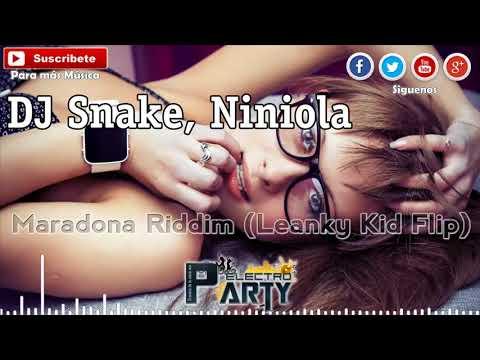 DJ Snake, Niniola - Maradona Riddim (Leanky Kid Flip) - ♫ ((♫ Electro Party ♫ ))♫ - 2018
